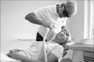 IPL behandling af karsprængninger i ansigtet